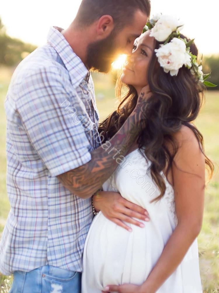 مدل عکس زن و شوهر در بارداری (1)